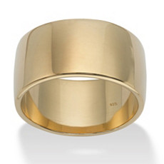 Unisex Wide Wedding Band   Shop PalmBeach  & Save!