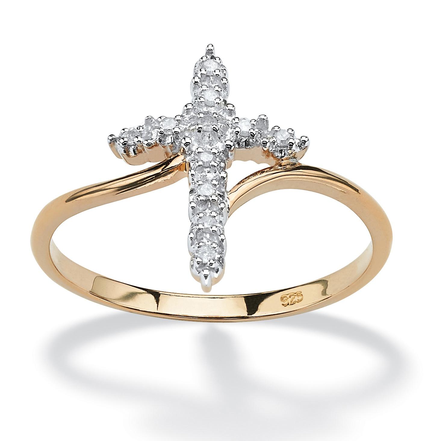 palmbeach jewelry 18k yellow gold 925