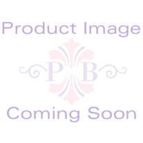 Round Aurora Borealis Crystal Glass Accent Black Macrame Multi-Crystal Ball Tranquility Bracelet 8