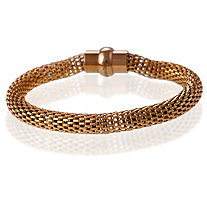 Mesh Bracelet in Rose Gold IP Stainless Steel