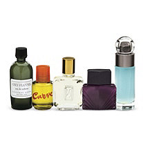 5 Piece Set of Designer Men's Fragrances