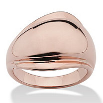 Freeform Ring in Rose Gold-Plated