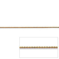 Venetian Box Link Chain in 14k Gold 18""