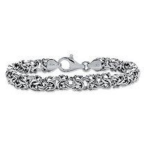 Byzantine Bracelet in Sterling Silver 8