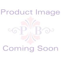 Birthstone Onyx Horizontal Cross Beaded Bracelet in Silvertone