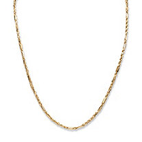 Diamond Cut Rope Chain 22""