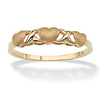 Love and Kisses Ring in 10k Gold