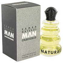 SAMBA NATURAL by Perfumers Workshop for Men Eau De Toilette Spray 3.4 oz