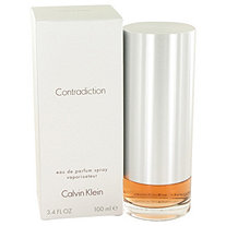 CONTRADICTION by Calvin Klein for Women Eau De Parfum Spray 3.4 oz