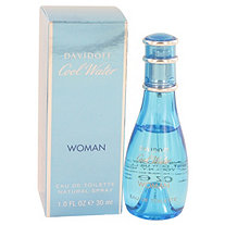 COOL WATER by Davidoff for Women Eau De Toilette Spray 1 oz