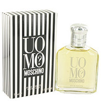 UOMO MOSCHINO by Moschino for Men Eau De Toilette Spray 2.5 oz