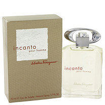 Incanto by Salvatore Ferragamo for Men Eau De Toilette Spray 1.7 oz