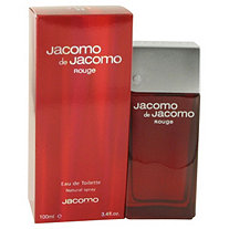 JACOMO DE JACOMO ROUGE by Jacomo for Men Eau De Toilette Spray 3.4 oz