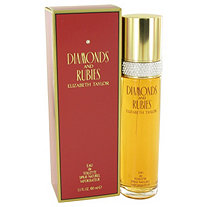 DIAMONDS and RUBIES by Elizabeth Taylor for Women Eau De Toilette Spray 3.4 oz
