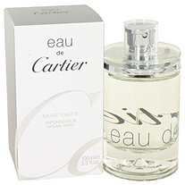 EAU DE CARTIER by Cartier for Women Eau De Toilette Spray 3.4 oz