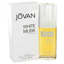 JOVAN WHITE MUSK by Jovan for Men Eau De Cologne Spray 3 oz