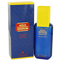 AQUA QUORUM by Antonio Puig for Men Eau De Toilette Spray 3.4 oz
