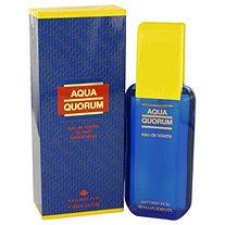 AQUA QUORUM by Antonio Puig for Men Eau De Toilette Spray 3.4 oz