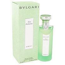 BVLGARI EAU PERFUMEE (Green Tea) by Bulgari for Women Cologne Spray 2.5 oz