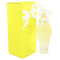 L'AIR DU TEMPS by Nina Ricci for Women Eau De Toilette Spray W/Bird Cap 3.3 oz