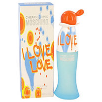 I Love Love by Moschino for Women Eau De Toilette Spray 1.7 oz