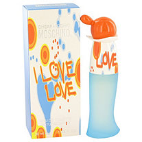 I Love Love by Moschino for Women Eau De Toilette Spray 1 oz