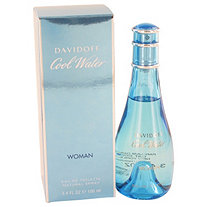 COOL WATER by Davidoff for Women Eau De Toilette Spray 3.4 oz