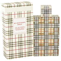 Burberry Brit by Burberrys for Women Eau De Parfum Spray 3.4 oz