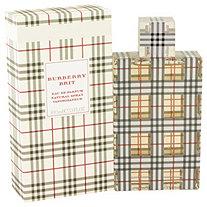 Burberry Brit by Burberrys for Women Eau De Parfum Spray 3.4 oz