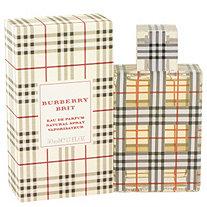Burberry Brit by Burberrys for Women Eau De Parfum Spray 1.7 oz