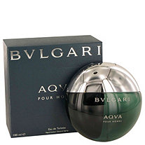 AQUA POUR HOMME by Bulgari for Men Eau De Toilette Spray 3.3 oz