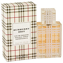 Burberry Brit by Burberrys for Women Eau De Toilette Spray 1 oz