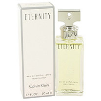 ETERNITY by Calvin Klein for Women Eau De Parfum Spray 1.7 oz