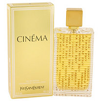 Cinema by Yves Saint Laurent for Women Eau De Parfum Spray 3 oz
