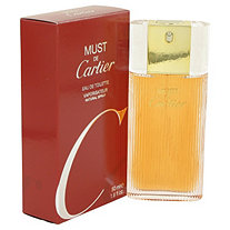 MUST DE CARTIER by Cartier for Women Eau De Toilette Spray 1.6 oz