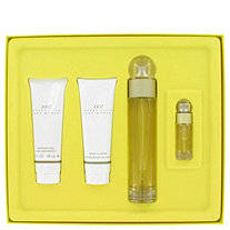 perry ellis 360 by Perry Ellis for Women Gift Set -- 3.4 oz Eau De Toilette Spray + 3 oz Shower Gel + 3 oz Body Lotion + .25 oz Mini