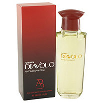 Diavolo by Antonio Banderas for Men Eau De Toilette Spray 3.4 oz