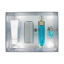 perry ellis 360 by Perry Ellis for Men Gift Set -- 3.4 oz Eau De Toilette Spray + 3 oz After Shave Balm + 2.75 oz Deodorant Stick + .25 oz Mini EDT Spray