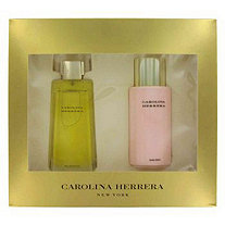 CAROLINA HERRERA by Carolina Herrera for Women Gift Set -- 3.4 oz Eau De Parfum Spray + 6.7 oz Body Lotion
