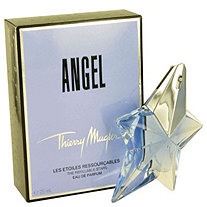 ANGEL by Thierry Mugler for Women Eau De Parfum Spray Refillable .8 oz
