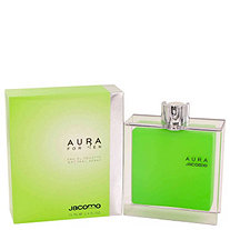 AURA by Jacomo for Men Eau De Toilette Spray 2.4 oz