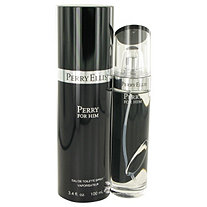Perry Black by Perry Ellis for Men Eau De Toilette Spray 3.4 oz