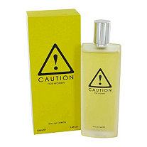 Caution by Kraft for Women Eau De Toilette Spray 3.4 oz