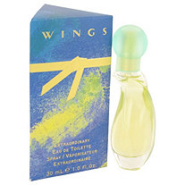 WINGS by Giorgio Beverly Hills for Women Eau De Toilette Spray 1 oz