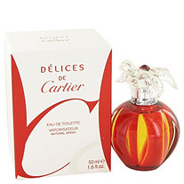 Delices De Cartier by Cartier for Women Eau De Toilette Spray 1.6 oz