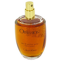 OBSESSION by Calvin Klein for Women Eau De Parfum Spray (Tester) 3.4 oz