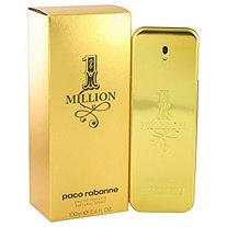 1 Million by Paco Rabanne for Men Eau De Toilette Spray 3.4 oz
