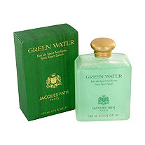 GREEN WATER by Jacques Fath for Men Eau De Toilette Spray (New Version) 3.4 oz