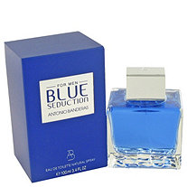 Blue Seduction by Antonio Banderas for Men Eau De Toilette Spray 3.4 oz