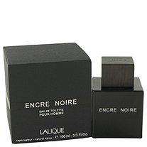 Encre Noire by Lalique for Men Eau De Toilette Spray 3.4 oz